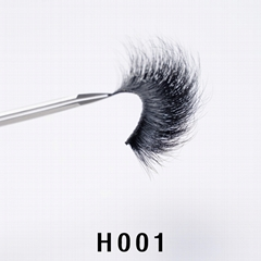 Real Mink Eyelashes 27mm, Natrual &Soft