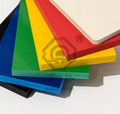 PVC Colored Foam Sheet