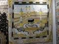 """麥加朝聖7X7ft真絲挂毯-藝繡生產的""""宗教之都"""" 1"""