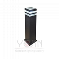 Garden Light E27 Aluminum Fixture YJ-5008-2