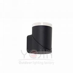 1 head 5W Outdoor 355 Degree Adjustable Light LED Wall Lighting YJ-3201