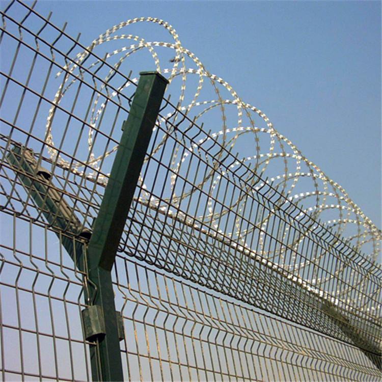 监狱防爬网,监狱隔离网,监狱钢网墙 3
