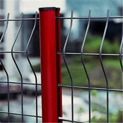 桃形柱隔離網,桃形柱防護網,桃形柱圍欄網
