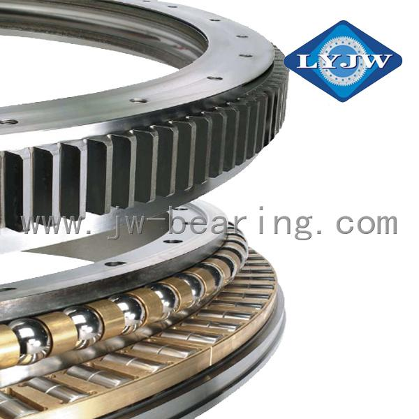 LYJW Wind Turbine Cross Roller Slewing Bearing External Ring Gear Slewing Bearin 1