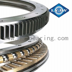 LYJW Wind Turbine Cross Roller Slewing Bearing External Ring Gear Slewing Bearin