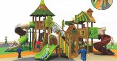 湖南戶外大型儿童玩具滑滑梯組合公園小區滑梯