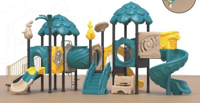 湖南戶外大型儿童玩具滑滑梯組合公園小區滑梯 5