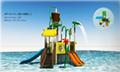 湖南戶外大型水上樂園儿童玩具滑梯組合 2