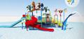 湖南戶外大型水上樂園儿童玩具滑梯組合 4