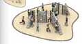 湖南戶外大型儿童公園小區體能拓展訓練攀爬架滑梯組合 3