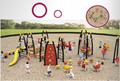 湖南戶外大型儿童公園小區體能拓展訓練攀爬架滑梯組合 4