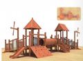 湖南戶外大型儿童玩具木質滑滑梯組合 3