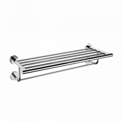 Stainless Steel Towel Rack with Towel Bar
