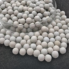 23%~26% Ceramic ball 6mm support media and catalyst carrier