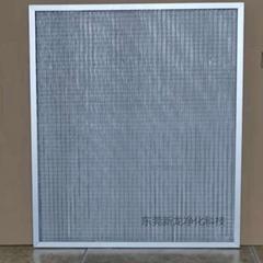 金屬網初效過濾器空氣除塵淨化鋁網不鏽鋼網初效過濾網工廠定製
