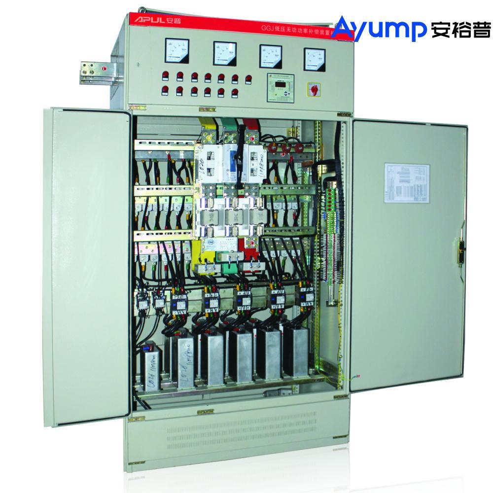 GGJ系列低壓無功功率自動補償電容櫃 1