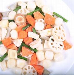 Frozen Mixed Vegetables Frozen Octopus Dice