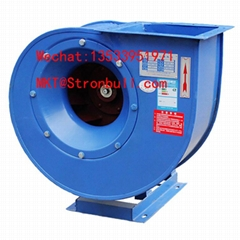 STRONBULL 4-72 industrial centrifugal fan 3 Phase carbon steel air exhausting bl