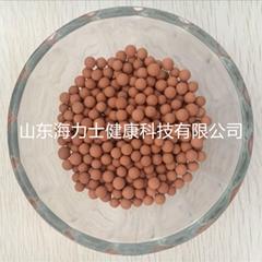 飲用水過濾用,礦化活化淨水顆粒,濾芯填料木魚石球