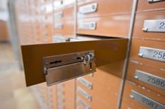 銀行保管箱 鋁合金門板