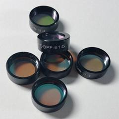 光學玻璃鏡片 熒光應用或光譜分離 610nm瑩光濾光片