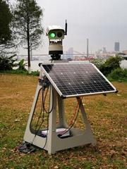 1000mW全自动太阳能驱鸟器4G高清监控摄像头APP控制