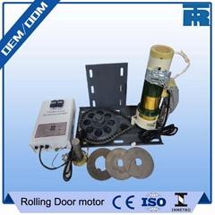 24V DC garage door motors for shutter doors with ups