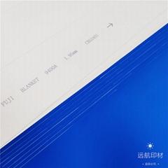 Rubber blanket for sheet-fed offset printing