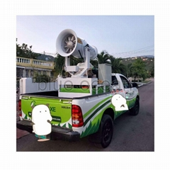 LHCW series vehicle-mounted dust removal fog cannon sprayer