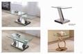 Wholesale custom stainless steel metal furniture, luxury furniture series.tea ta