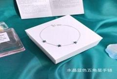 Charm Jewelry, micro inlaid Bracelet Light Luxury Zircon Bracelet for W