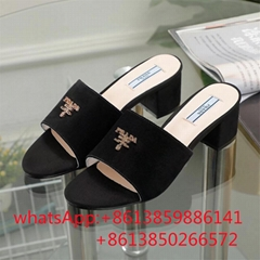women slippers  sandals new style 2021 heel shoes real leather wholesale