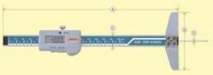 日本KANON中村數顯細孔深度卡尺E  E-TH15B E-TH20B E-TH30B
