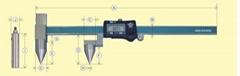 日本KANON中村孔距數顯卡尺E-RM30DX