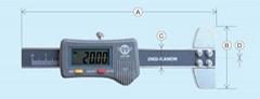 日本KANON中村数显超细孔深度卡尺 E-DP2J E-DP20JE-DP30J