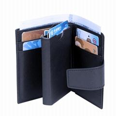 Designer Amazon Hot Sale Personalized RFID Anti Theft Men Card Case Customized P