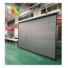 xy screen EC2 electric projector daylight screen motorized long throw projector