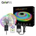 led strip light kit SP101 LED controller 5m 60leds module usb power strip