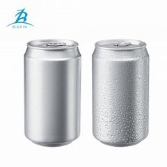 food grade 330ml aluminum atandard can with 202 B64 Lid or CDL lid