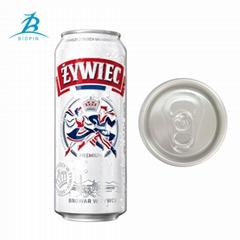 500ml aluminum can for beverage drink water juice beer energy drink coffee tea