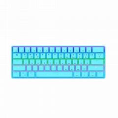 机械键盘蓝牙有线双模连接61键游戏办公键盘