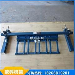 H 型合金橡胶清料器 皮带机清理合金刮板
