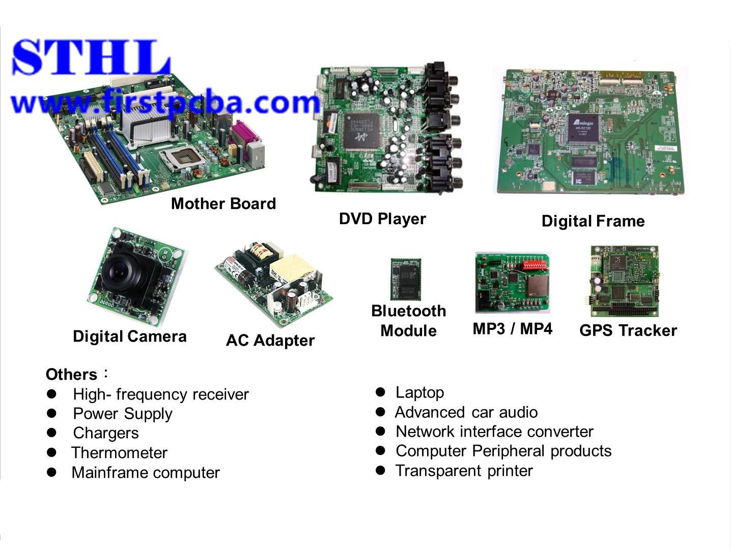 Digital Cameras pcba service pcb assembly board Custom Made one-stop PCBA 2