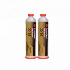 3M2214膠水 單組分熱固化環氧樹脂膠水 鋁合金塑料耐高溫粘接膠水