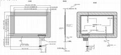 7寸投射式电容屏