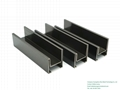 Decorative Black Brushed Stainless Steel Strip Metal Angle Wall Tile Trim