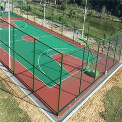 泰安球场围网体育场防护栏篮球场围栏制作精良