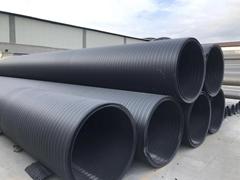聚乙烯DN500中空壁纏繞管荷通管業