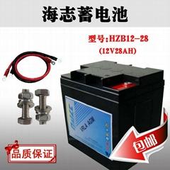 美国铅酸海志蓄电池HZB12-40T太阳能ups电源专用