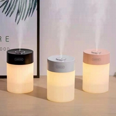 Simple Star Light Humidifier USB Operated Mini Ultrasonic Water Cooling Mist Air